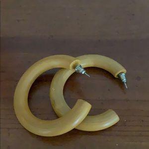 Jewelry - Wooden hoops